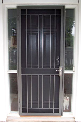 Iron Curtains Adelaide - Wrought iron security doors and window ...