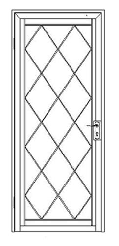 Range Of Security Door Designs
